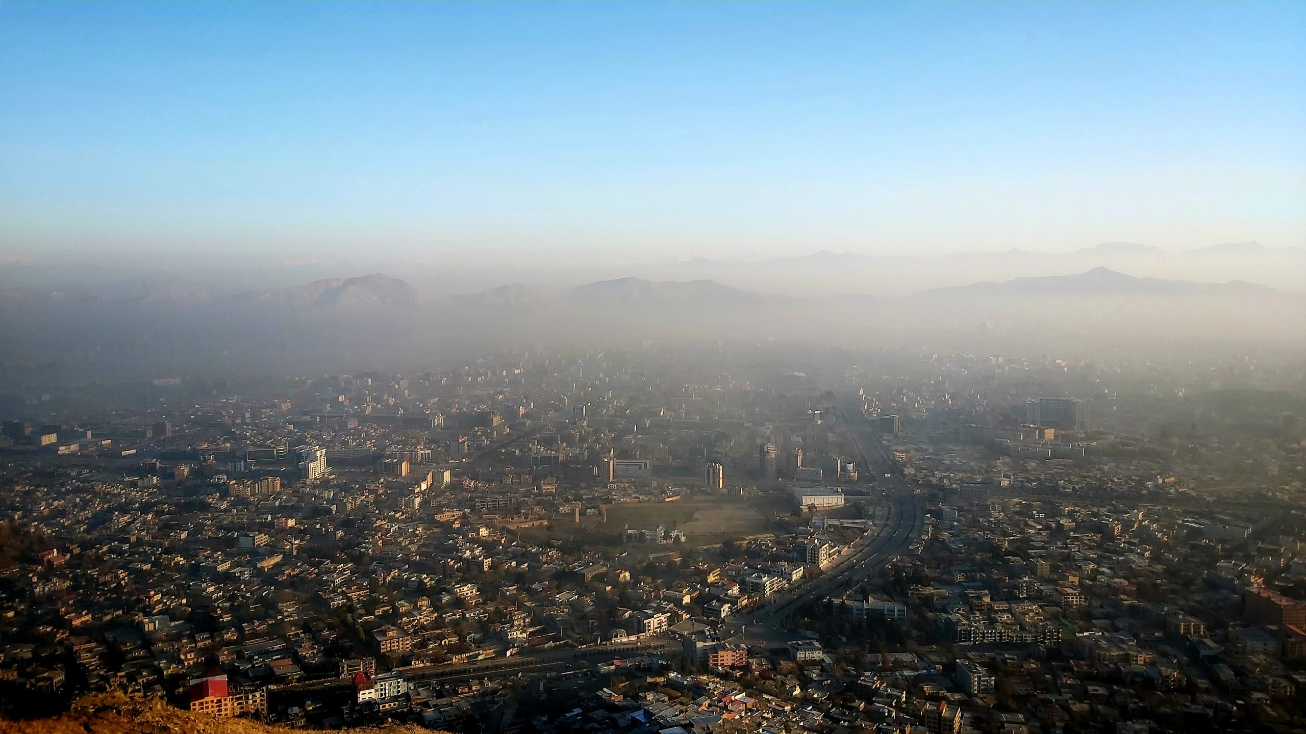 Landscape of Kabul City from Top December 06 2019 - Credit - Ezom